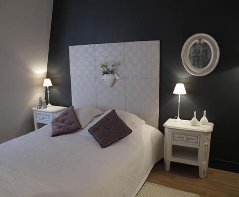 Chambre romantique d co sophie levitte for Chambre parentale deco m6