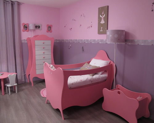 Chambre princesse d co sophie levitte for Deco princesse chambre