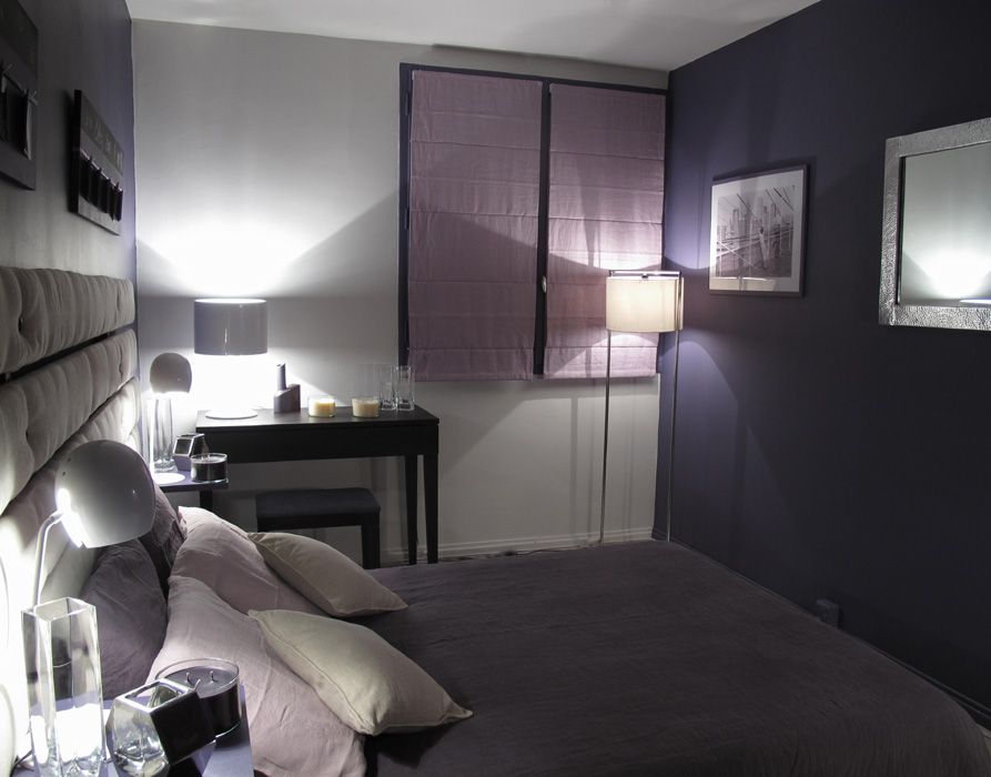 chambre moderne parme d co sophie levitte. Black Bedroom Furniture Sets. Home Design Ideas