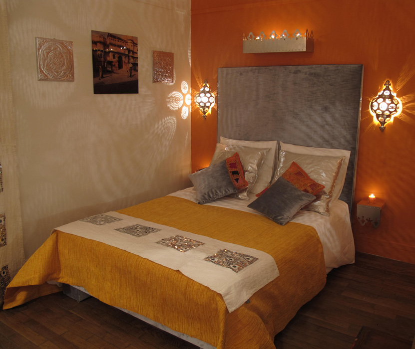 Chambre indienne d co sophie levitte for Chambre indienne