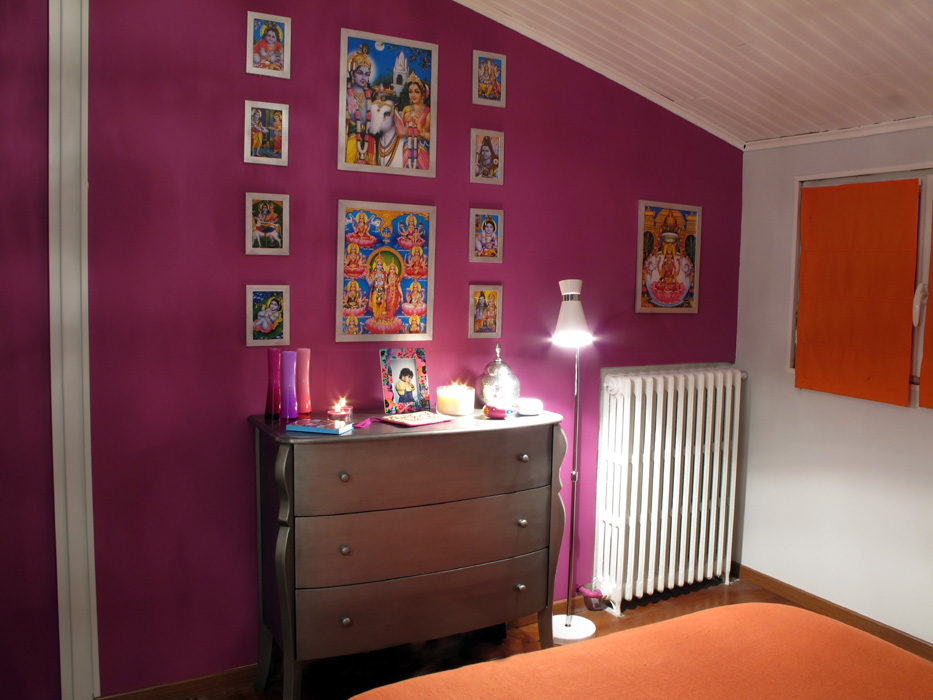 Chambre indienne 2 d co sophie levitte for Chambre indienne