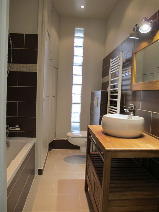 salle de bain chocolat sophie levitte. Black Bedroom Furniture Sets. Home Design Ideas